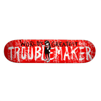 Emily the Strange Troublemaker Skateboard Deck