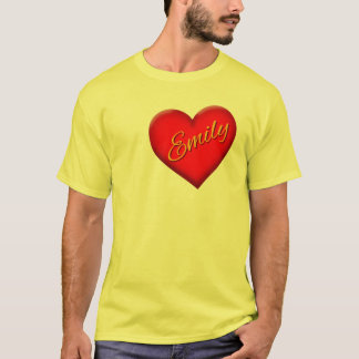Emily with Heart T-Shirt