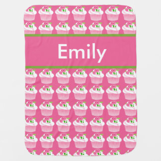 Emily's Personalized Cupcake Blanket