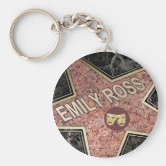 Emilys Star Keychain