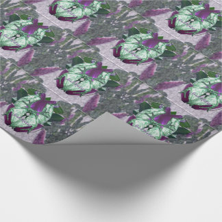 Eminece Magnolia Parrots Wrapping Paper
