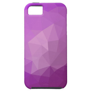 Eminence Violet Abstract Low Polygon Background Case For The iPhone 5