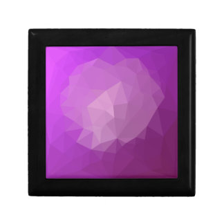 Eminence Violet Abstract Low Polygon Background Gift Box