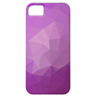 Eminence Violet Abstract Low Polygon Background iPhone 5 Cover
