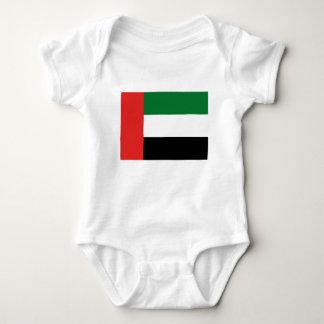 Emiradosarabes flag baby bodysuit
