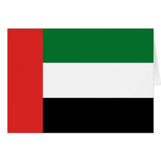Emiradosarabes flag card