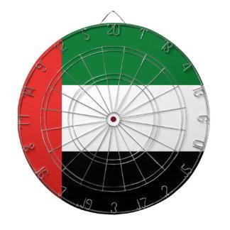 Emiradosarabes flag dartboard