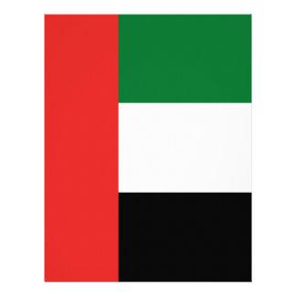 Emiradosarabes flag letterhead