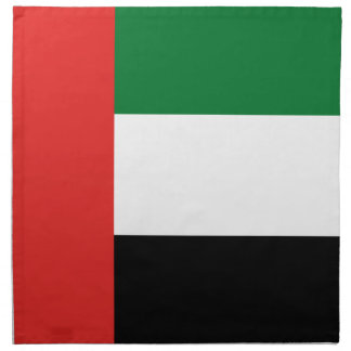 Emiradosarabes flag napkin