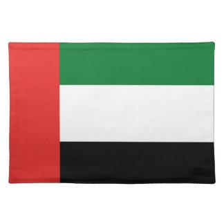 Emiradosarabes flag placemat