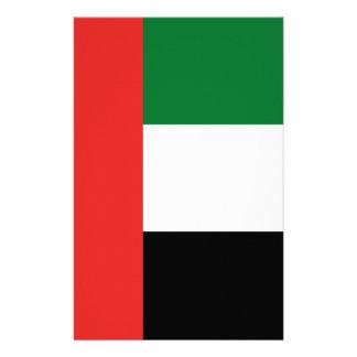 Emiradosarabes flag stationery