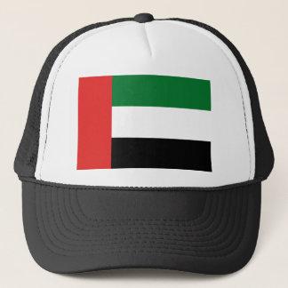 Emiradosarabes flag trucker hat