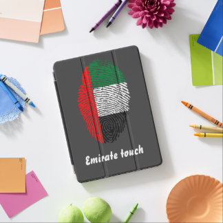 Emirate touch fingerprint flag iPad air cover