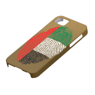 Emirate touch fingerprint flag iPhone 5 cases