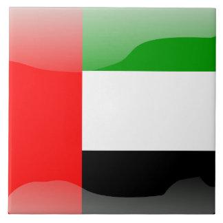 Emirati flag tile