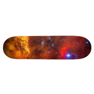 Emission Nebula NGC 2467 in Constellation Puppis Custom Skateboard