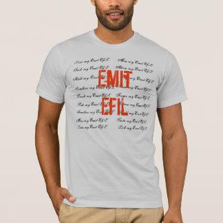 Emit EfiL Mural Tee-Silver T-Shirt