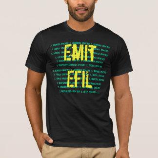 Emit EfiL Tee-Black/Yellow/Green T-Shirt