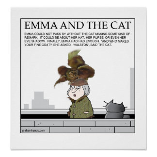 Emma and The Cat poster