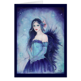 Emma Angel Greeting Card BY Renee L Lavoie