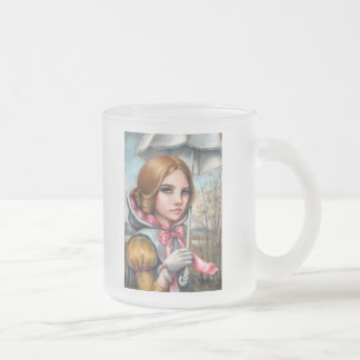 Emma Frosted Glass Coffee Mug