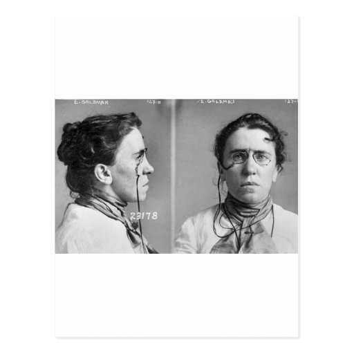 Emma Goldman - anarchist, 1911 Postcards