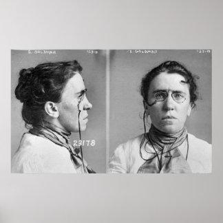Emma Goldman - anarchist, 1911 Poster