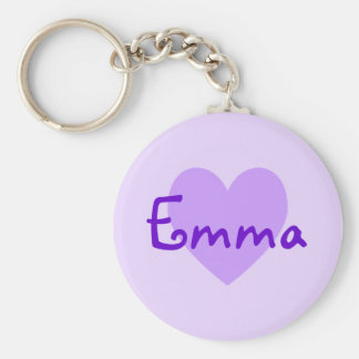 Emma in Purple Keychain
