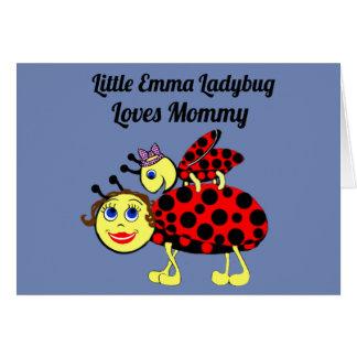 Emma Lady Bug Card