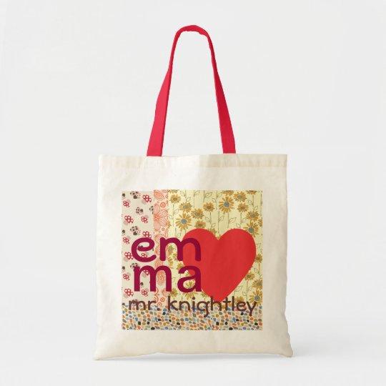 Emma Loves Mr. KnightleyTotebag Tote Bag
