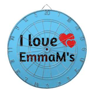 Emma Name Dartboard