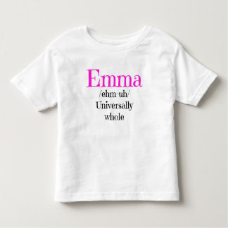 Emma Name Definition Shirt