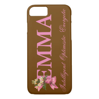 """EMMA"" Name/Meaning iPhone 7 CASE"