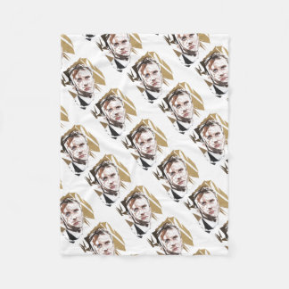 Emmanuel Macron Fleece Blanket