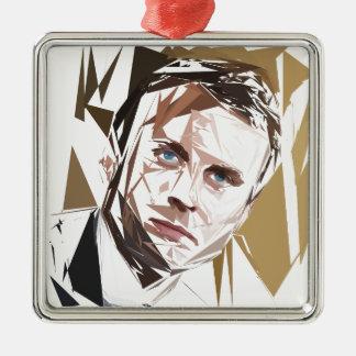 Emmanuel Macron Metal Ornament