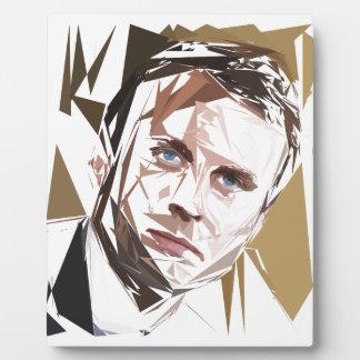 Emmanuel Macron Plaque