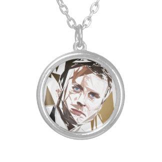 Emmanuel Macron Silver Plated Necklace