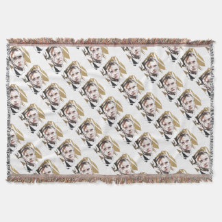 Emmanuel Macron Throw Blanket