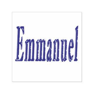 Emmanuel Name Logo, Self-inking Stamp