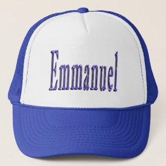 Emmanuel Name Logo, Trucker Hat