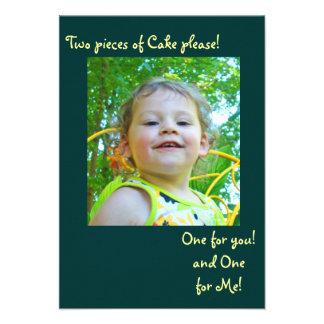Emma's 2nd bday invitation #2