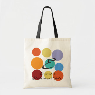 Emma's Bright Polka Dots Statement Tote