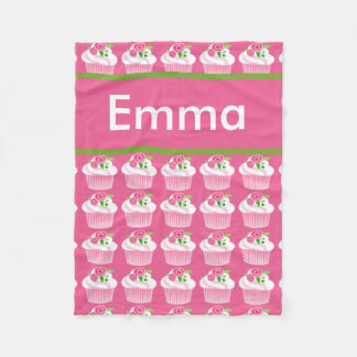 Emma's Personalized Cupcake Blanket