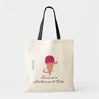 Emma's Sweet Dream Ice Cream Statement Tote