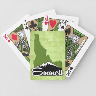 Emmett Idaho Idahoan Gem County Hometown Bicycle Playing Cards