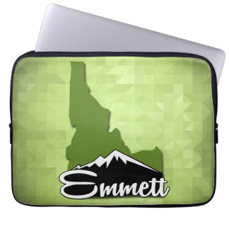 Emmett Idaho Idahoan Gem County Hometown Laptop Sleeve