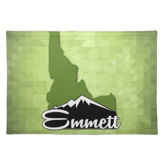 Emmett Idaho Idahoan Gem County Hometown Placemat