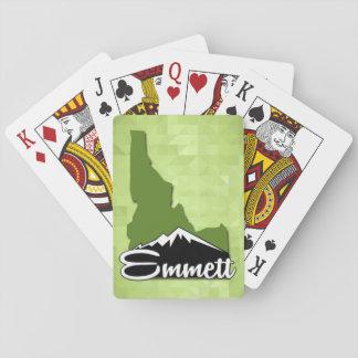 Emmett Idaho Idahoan Gem County Hometown Playing Cards