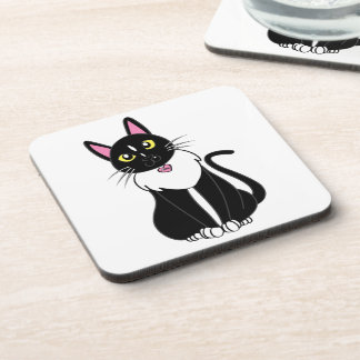 Emmy The Tuxedo Cat Coaster