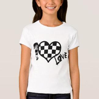 Emo and Heart Tee Shirt